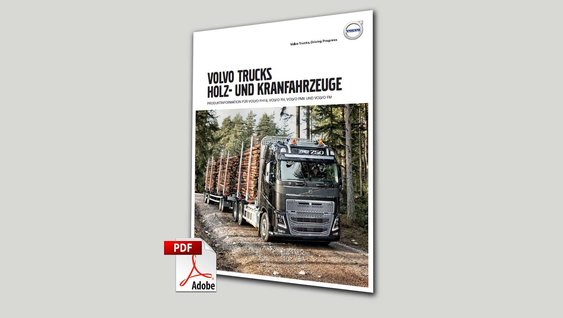Volvo Trucks Holztransporter