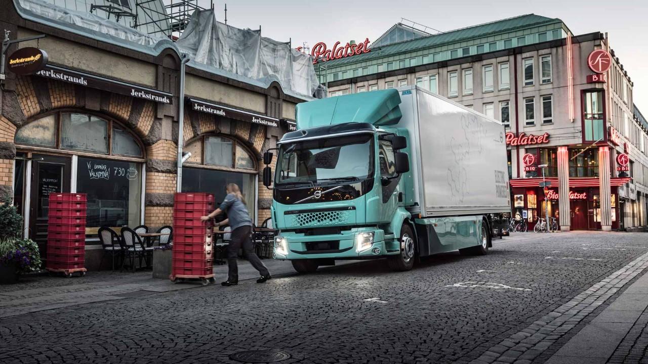 Der Volvo FL Electric für den innerstädtischen Lieferverkehr